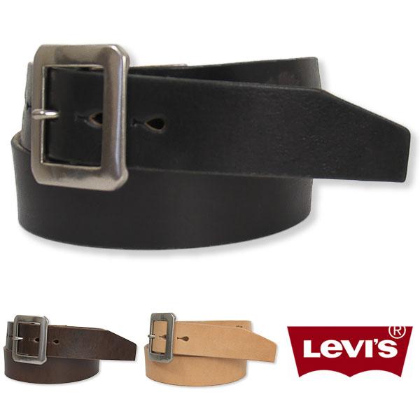 【日本製・国内正規品】Levi's リーバイス レザーベルト ギャリソンバックル プレミアム 40mm Levi's Leather Belt Made in Japan Premium 12116311 72616311【送料無料】