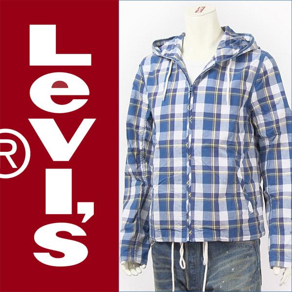 【送料無料】リーバイス・レッドタブ 長袖・フーデッド・シャツジャケット / チェック ( Levi's Red Tab Shirt 71295-0002 )【パーカー】【smtb-tk】