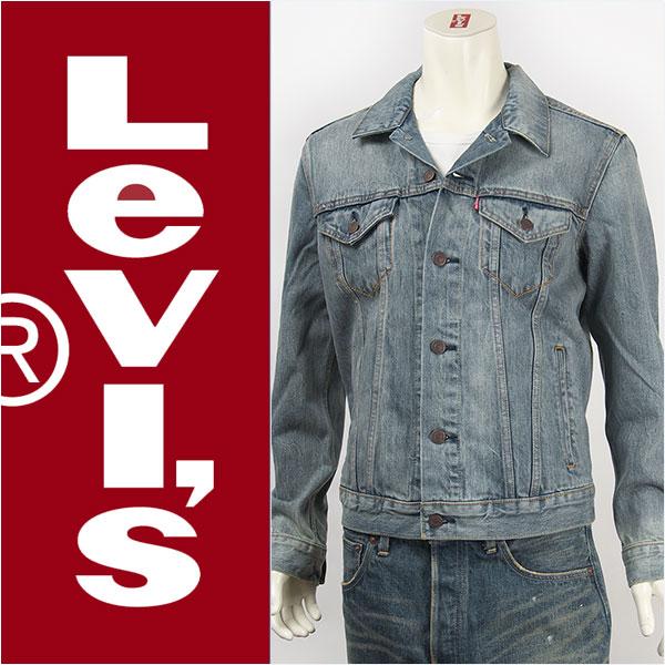 李维斯李维斯跟踪夹克 14.5 盎司牛仔夹克李维斯卡车司机夹克 72334-0017 G 牛仔布格雷戈里 (浅蓝色)