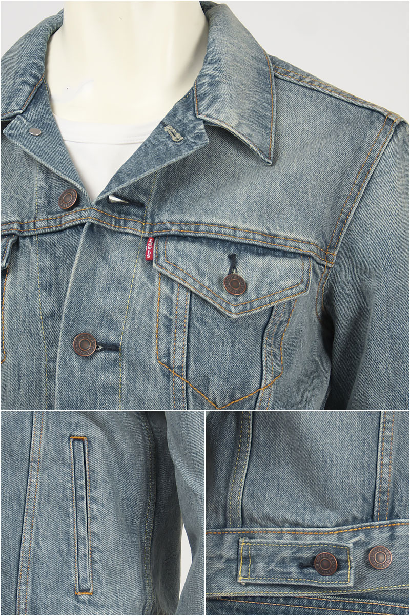 Levi's Levi's Tracker jacket 14.5 oz denim Gregory (light blue) Levi's Trucker Jacket 72334-0017 G Jean denim jacket