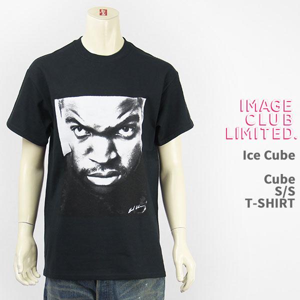 バンドT ロックT ミュージシャンT アーティストT 登場大人気アイテム 半袖 国内正規品 IMAGE CLUB LTD. イメージクラブリミテッド 在庫あり Tシャツ T-SHIRT Cube 送料無料 キューブ Ice アイス 44316-09 S