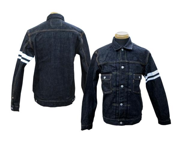 桃太郎牛仔裤双口袋夹克 2 键入 2105 SP