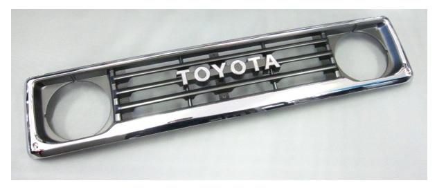 旧TOYOTAロゴタイプ ラジエターグリル 53101-60060 ランドクルーザー 70系 トヨタ純正部品