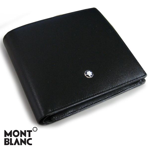 モンブラン MONTBLANC マイスターシュテュック MEISTERSTUCK ウォレット 2つ折り財布 ブラック 7164 【送料無料】