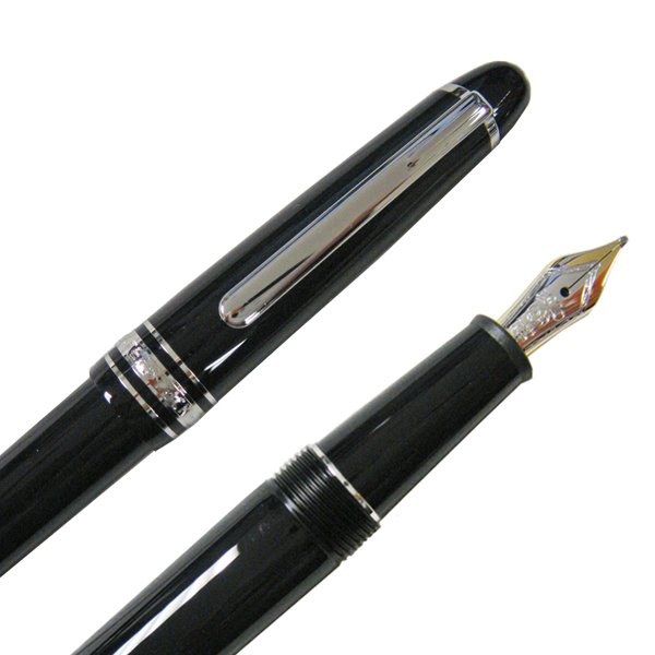 MONTBLANC Mont Blanc MEISTERSTUCK meisterstuck classic Platinum line fountain pen to size f (fine) P145 106521
