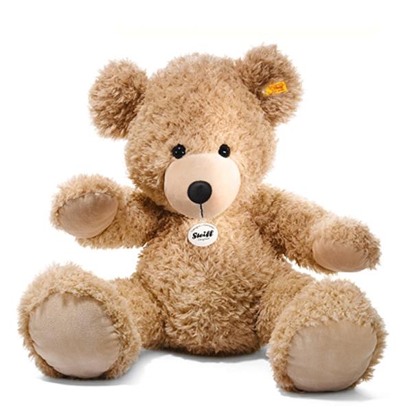 シュタイフ Steiff テディベア フィン ベージュ 80cm Fynn Teddy bear 111389 【送料無料】【ラッピング不可】【熨斗不可】