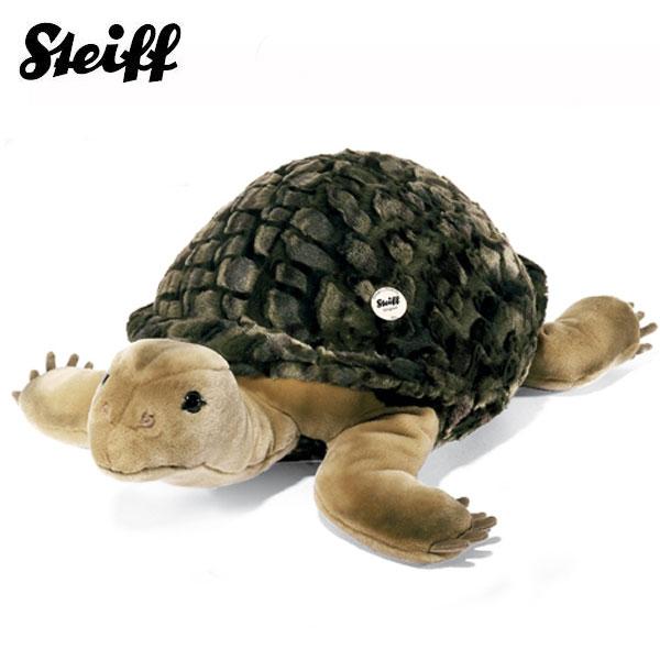 シュタイフ Steiff かめのソロ 70cm Slo tortoise -greeen- 68478 【送料無料】【ラッピング不可】【熨斗不可】