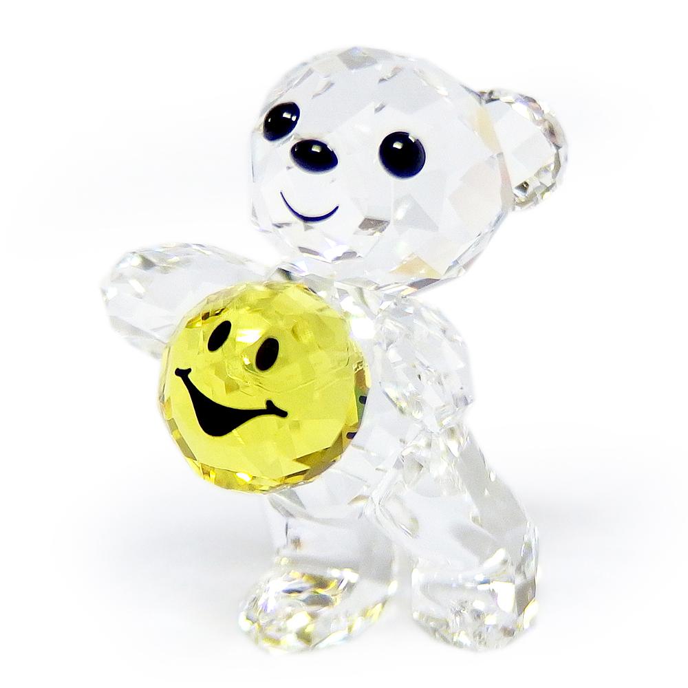 スワロフスキー SWAROVSKI クリスタル フィギュア クリスベア Kris Bear スマイルフォーユー A Smile for you #5427996 インテリア 置物 ○ 熨斗不可
