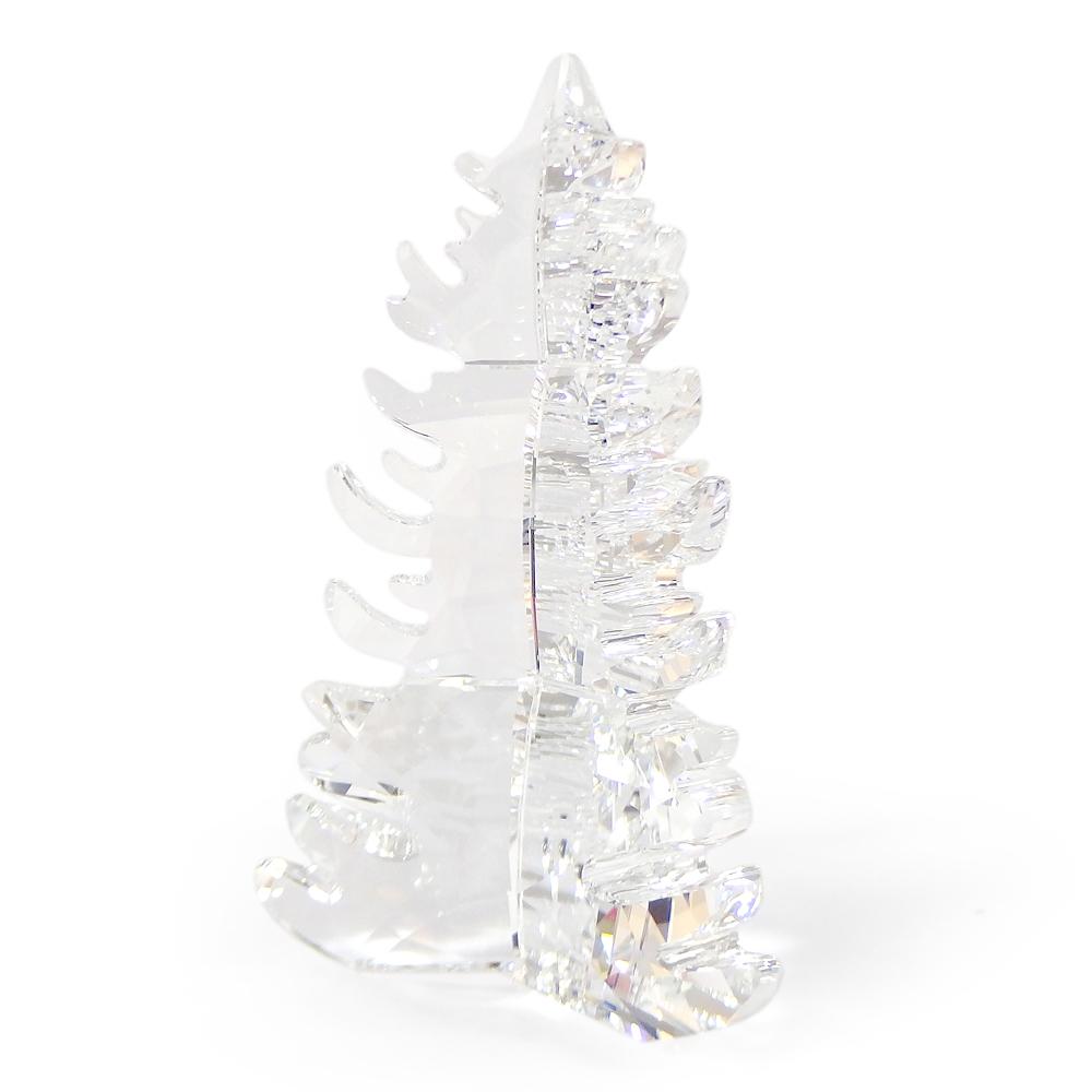 スワロフスキー SWAROVSKI クリスタル フィギュア 松の木 #5464871 クリスマス インテリア 置物 【送料無料】
