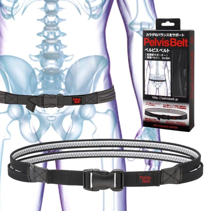 ペルビスベルト 2個セット デューク更家 推奨 骨盤ベルト 骨盤補正 ダイエット 飛距離アップ 腰痛 健康 瞬発力UP 送料無料