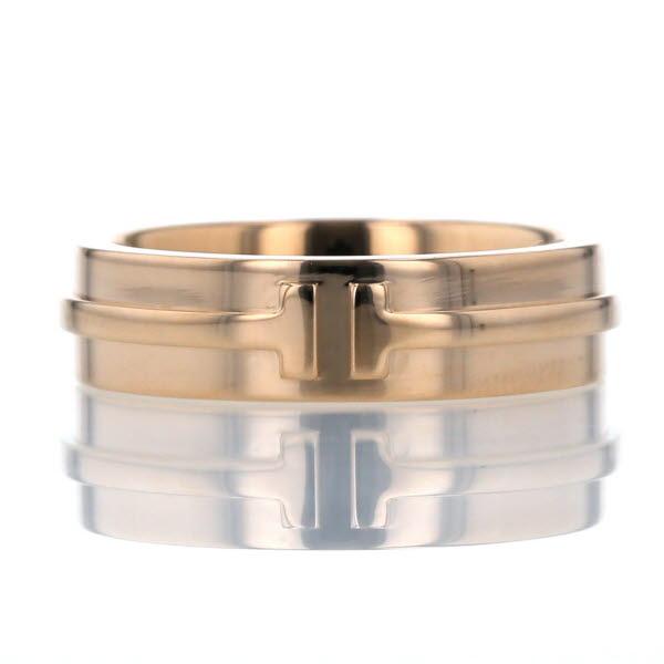品質が TIFFANY&Co. ティファニー リング K18PG ピンクゴールド リング Tツーナローリング 指輪 シンプル 指輪 ピンクゴールド 14号【新品仕上済】【zz】【】【送料無料】, ウーマンリミックス:2f867f82 --- arg-serv.ru
