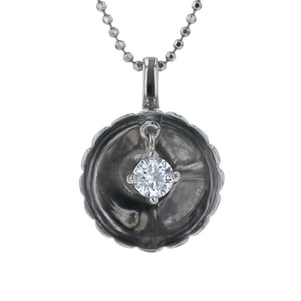 Pt850 Pt900 プラチナ ネックレス ダイヤモンド 2.03ct ラウンドブリリアントカット スイング デザイン 43cm【新品仕上済】【zz】【中古】【送料無料】