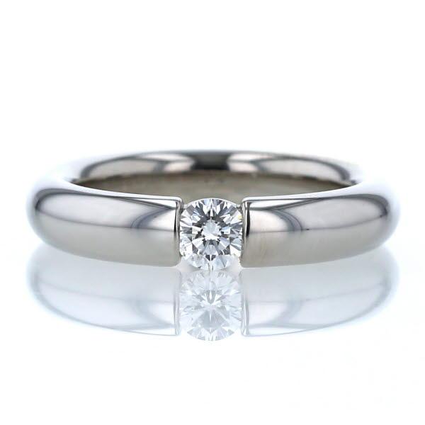 FURRER JACCO フラージャコー Pt950 プラチナ リング ダイヤモンド 0.26ct 一部予約 中古 新品仕上済 el インサイドストーン 指輪 甲丸 11号 在庫一掃売り切りセール 送料無料