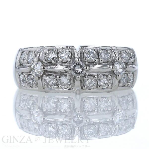 Pt900 プラチナ リング ダイヤモンド 1 00ct デザイン 指輪 17号 メンズ レディース 新品仕上済zz送料USMpqzV