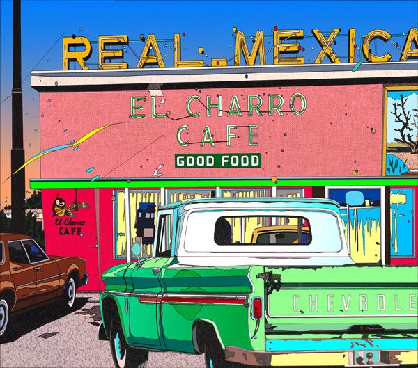2021年激安 鈴木英人「リアルメキシカン」-REAL-MEXICAN- 2001年 2001年 EMグラフ 額付版画作品 国内送料無料, 大きいサイズの専門店グランバック:ef72add6 --- atakoyescortlar.com