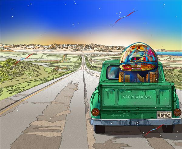 鈴木英人「遥かなるジュークの旅路」JUKEBOX MOVING2013年 EMグラフ 額付版画作品国内 送料無料 EMグラフ MOVING2013年 送料無料, 靴下屋 Tabio:f8c80135 --- sunward.msk.ru