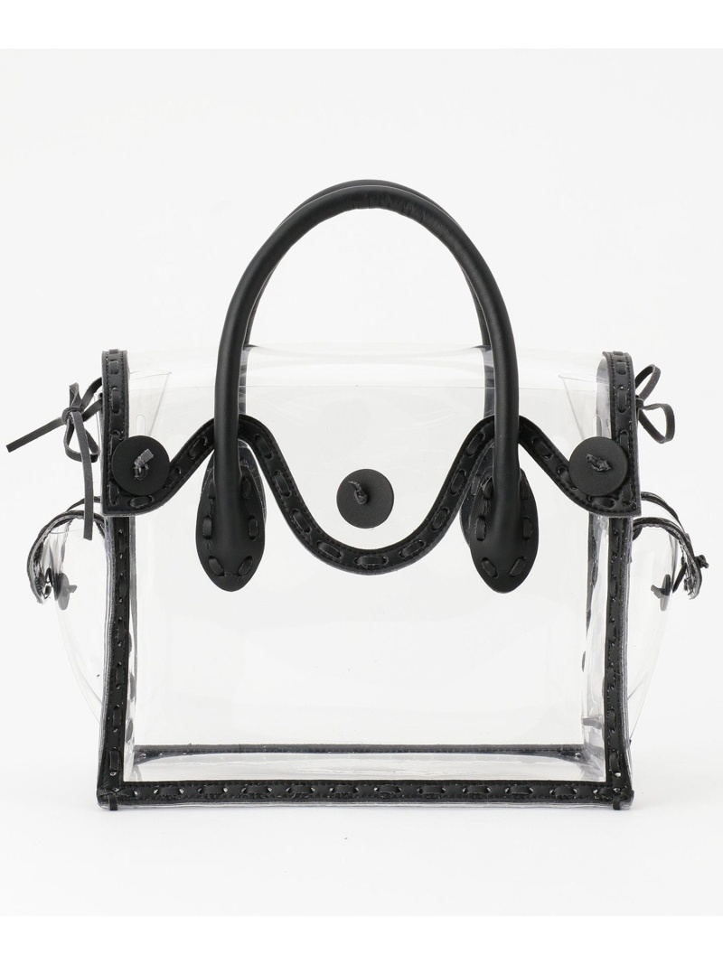 GRACE CONTINENTAL レディース バッグ グレースコンチネンタル  PVC Maestra S GRACE CONTINENTAL グレースコンチネンタル バッグ ハンドバッグ ブラック【送料無料】[Rakuten Fashion]