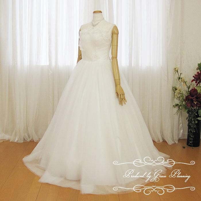 ウェディングドレス 白 Aライン ロングドレス 二次会 花嫁ドレス WeddingDress 7号9号11号 18799