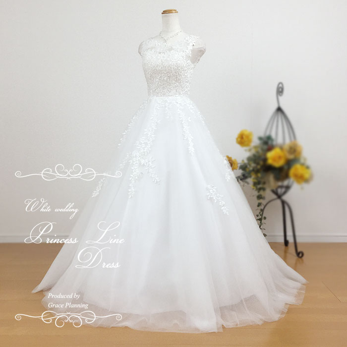 【期間限定割引】Sサイズ ウェディングドレス 二次会 白 ノースリーブのウェディングドレス ウエディングドレス 花嫁ドレス gcd7032 5号