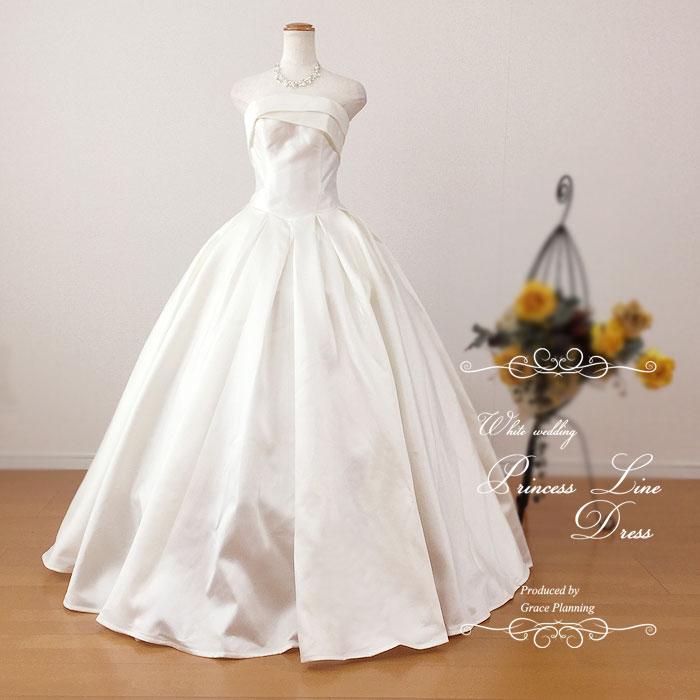 New!!ウェディングドレス 二次会 白 プリンセスライン 7号9号11号 結婚式 ウエディングドレス 海外挙式 フォトウェディングにお勧めします gcd7037