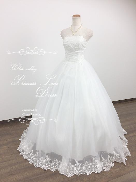 ウェディングドレス 二次会 刺繍のビスチェとスカート プリンセスラインのウェディングドレス 二次会 白 WeddingDress 5号7号9号11号13号 結婚式 ウエディングドレス 花嫁ドレス 海外挙式 フォトウェディングにお勧めします gcd8528