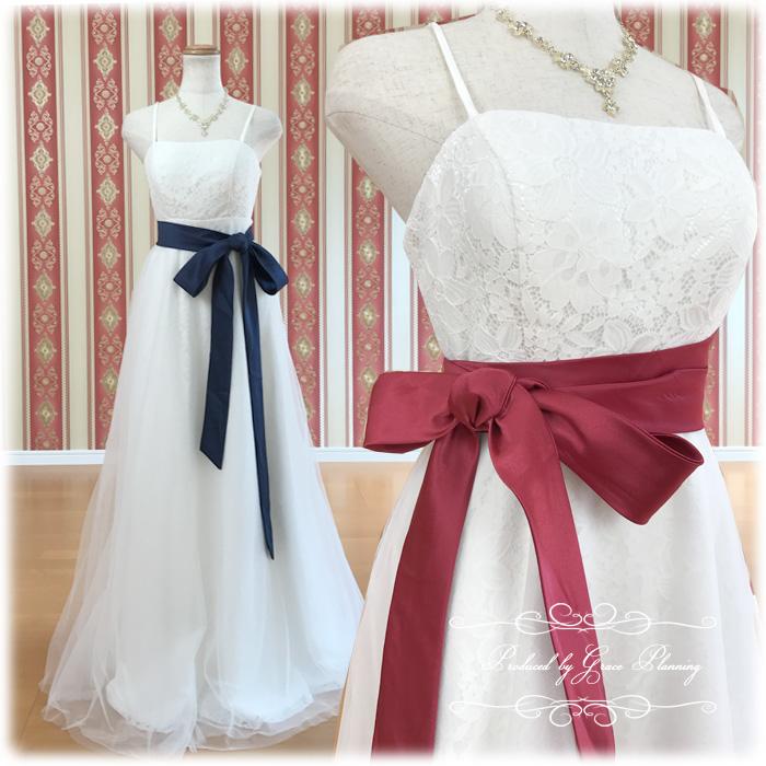 【サッシュベルトプレゼント中】ウェディングドレス エンパイアライン WeddingDress 結婚式や二次会 花嫁ドレス 上品なシルエットのドレス マタニティ 海外挙式にオススメ gcd8859[5号7号9号11号13号]