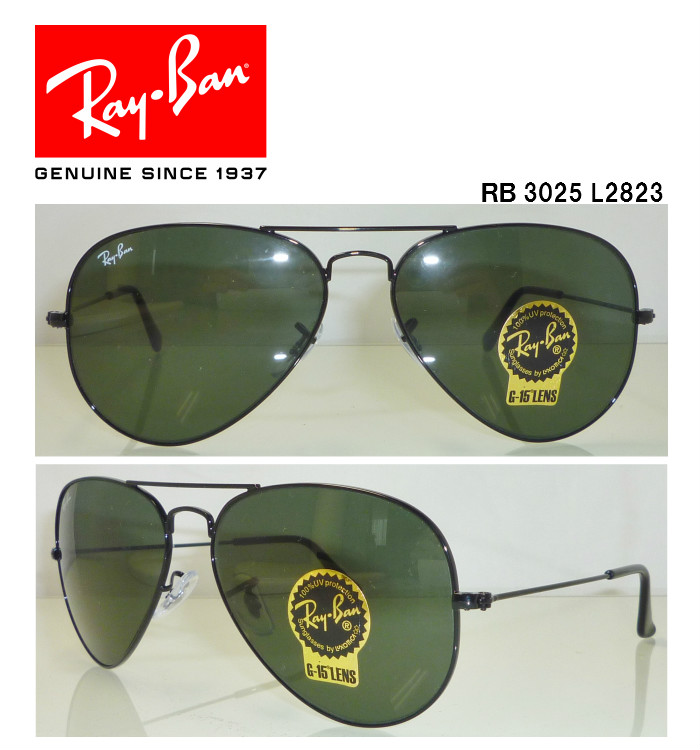 6cf2980639 Ray-Ban Ray-Ban sunglasses RB3025 L2823 G-15 アビエーター AVIATOR domestic  regular article store Ray-Ban sunglasses teardrop classical music popularity