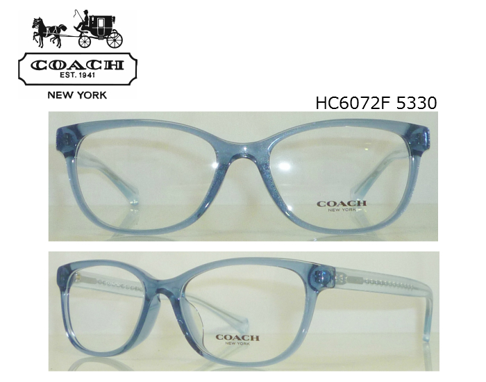 graceeyewear | Rakuten Global Market: Coach Womens HC6072 5330 blue ...