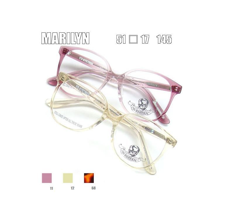 !! Most popular items! 59 hysterical MARILYN glasses frame degrees with possible! Popular glasses 05P17Apr13