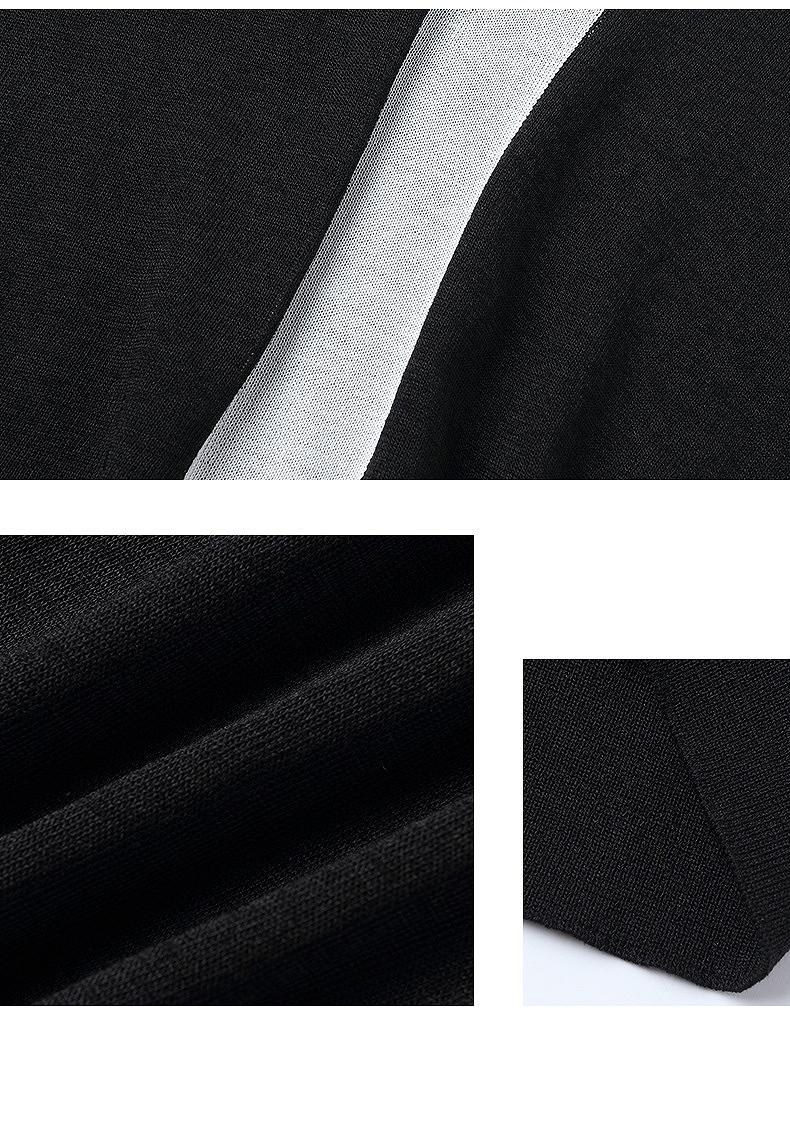 ブラウス トップス Tシャツ チュニック レディース 大きいサイズ 母親 夏 きれいめ ブラック ホワイト ブルー ライン サマーニット 半袖 可愛い クルーネック ゆったり リラックス オフィス ママ 授業参観 無地 シンプル 上品 着回し カジュアル  母の日/[cco08]