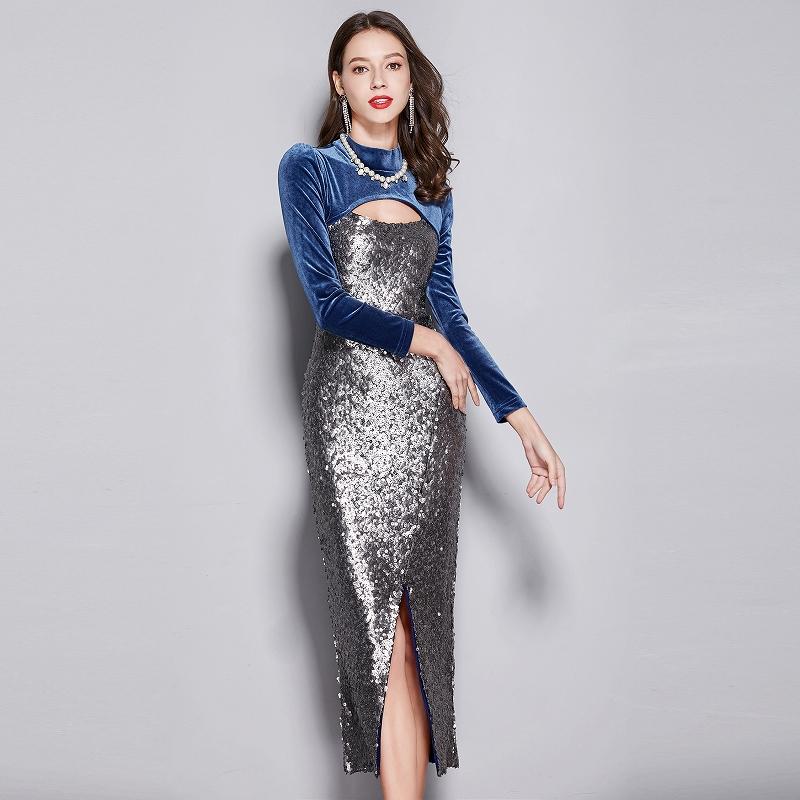 76fbd56fb3415 ロングドレス パーティードレス ワンピース 大きいサイズ 大きいサイズ ...