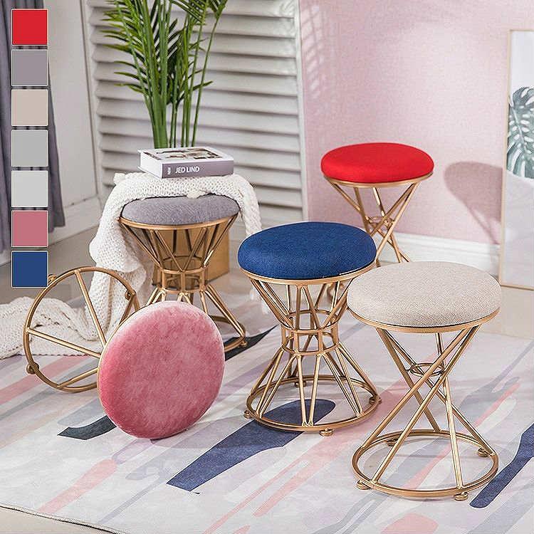 ダイニングチェア おしゃれ 北欧 チェアー チェア 椅子 いす イス ダイニングチェアー リビング かわいい デザイナーズ風 ピンク グレー オフホワイト ブルー レッド 華奢 シンプル スツール ポップ キュート 可愛い プリンセス 家具 新生活/[aas29]