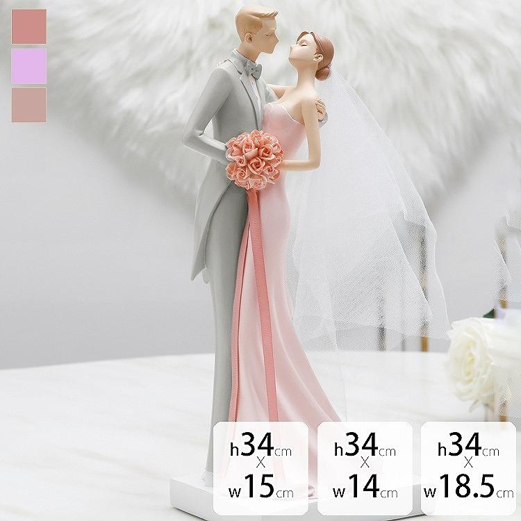 結婚祝い ペア 花瓶 オブジェ 置物 出産祝い プレゼント かわいい 北欧 お祝い ピンク グレー ウエディング 上品 薔薇 引越し祝い ダイニング 寝室 カップル 新婚 フェミニン インテリア 高級感 きれいめ リビング ギフト 贈答品 お祝い/[aax35]