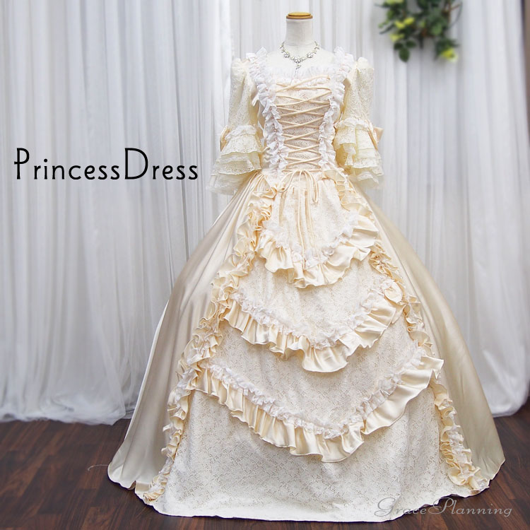 6f3c388fd6f08 結婚式 披露宴のお色直しの衣装としても最適なお姫様ドレスです180823 ...
