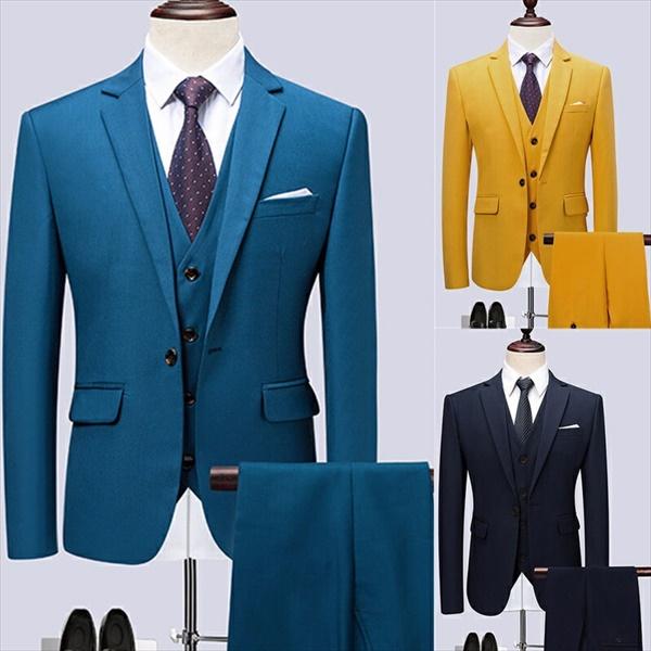 1ボタンスリム スーツ フォーマル ビジネス リクルートメンズ3カラー 紳士服 男性背広 就職活動 3点セット メンズ 大きいサイズ 春 夏 結婚式 オシャレ【M/L/XL/2XL/3XL/4XL/5XL/6XL】dg050g4g4x2/代引不可