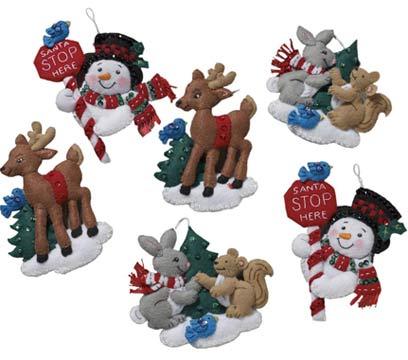 Grace Work Rakuten Global Market Felt Handicrafts Kit Santa Stop
