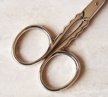 DOVO embroidery scissors silver 0350 sewing thread scissors made in Solingen Germany Robo-Devo