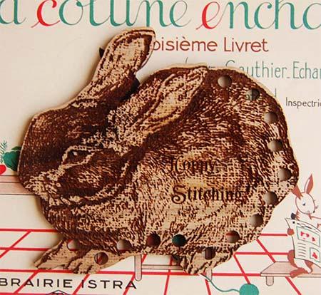刺繍糸の仕分け 限定モデル 整理に便利 木製スレッド ウサギ 絶品 オーガナイザー