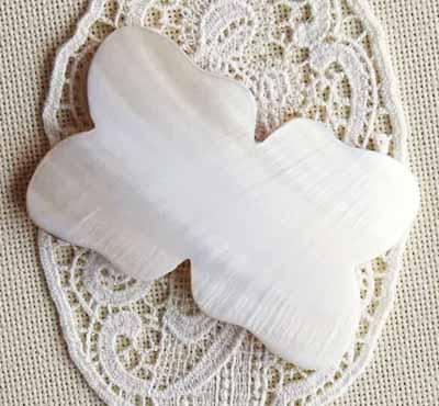 新登場 白蝶貝の糸巻き バロック マザーオブパール シェル オープニング 大放出セール 天然貝 手芸
