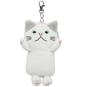 人気ショップが最安値挑戦 パスケース 柴田さんの住む東京わさび町 モチッコターチャン リール付きぬいぐるみパスケース 猫雑貨 格安 価格でご提供いたします BR