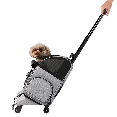 ペットカート 日本正規品 AIR BUGGY FITT キャスター付きペットキャリー 新作通販 エアバギーフィット 小型犬