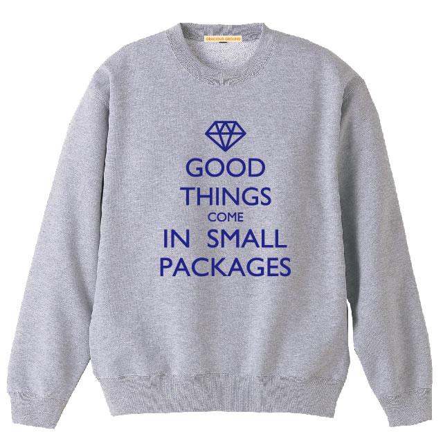 英国风格英国标志圆领设置教练羊毛 | 好的东西进来小包...徽标 | 10.0 oz (盎司) 的长袖 XS-l,男人和女人,完美地匹配在一起,从事 • | 亲切地 (亲切地) | 05P23Sep15