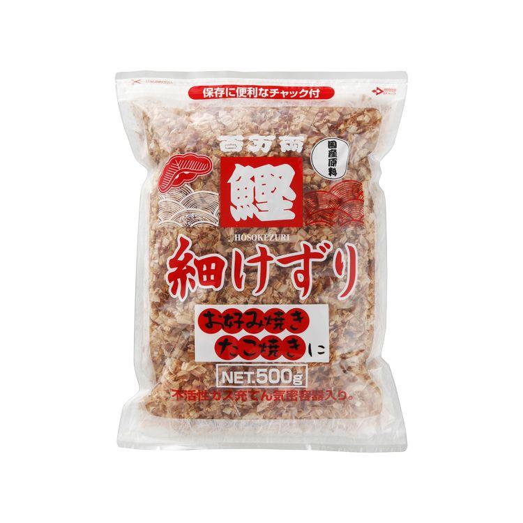 【ジーエスフード】百万両かつお細削 500g ケース/業務用食品材料