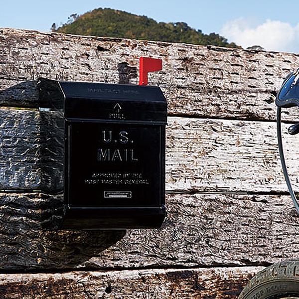 郵便ポスト 壁付け 郵便ポスト シンプル おしゃれ アメリカン ポスト 鍵付き 8色 ベージュ ブラック クリーム グリーン ダークグレー レッド シルバー イエロー 通販 郵便ポスト 郵便受け 壁掛け 大容量