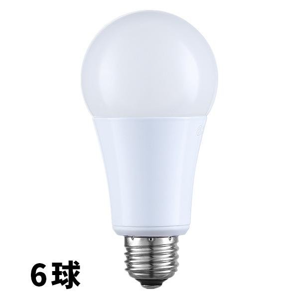【6球】LED電球 ソレイユ T6-JL10 調光 調色 E26 560ルーメン 650ルーメン 40ワット相当 電球色 昼白色 明るい リモコン