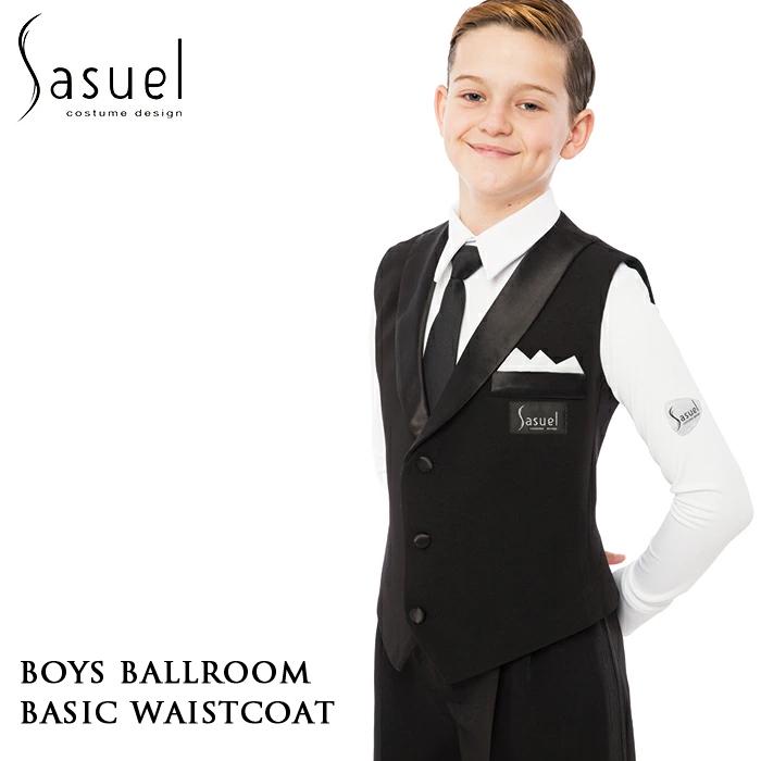 ジュニア ジュブナイル 社交ダンス Sasuel サシュエル ボーイズ・ボールルームベスト 競技シャツ ベスト 社交ダンス衣装 衣装 かっこいい 子供 男の子 ボーイズ キッズ XS-L 白 キッズ ダンス スポーツ ルーマニア製 ヨーロッパ 海外