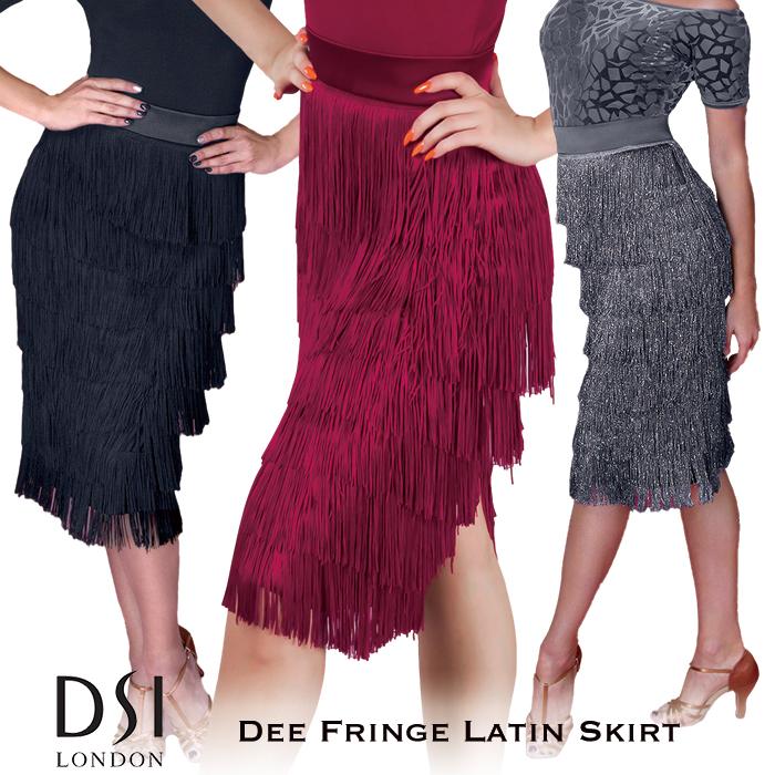 女性 黒 海外 レディース DSIロンドン 練習着 スカート ファッション 社交ダンス 赤 グレー ブラック ヘマタイト DSI ディー・ラテンスカート ラテン バーガンディ London XXS-L