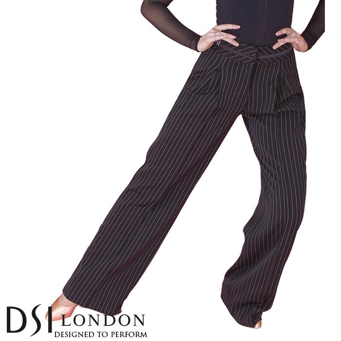 ダンスパンツ DSIロンドン DSI London ヘイリー・トラウザー 社交ダンス 衣装 練習着 パンツ レディース ファッション 女性 XXS-L ブラック 黒 ヘマタイト グレー 海外