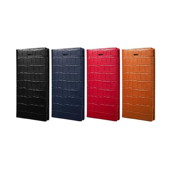 【公式】 GRAMAS グラマス iPhone6s Plus/ iPhone6 Plus ケース 手帳型 手帳 Croco Patterned Full Leather Case 送料無料