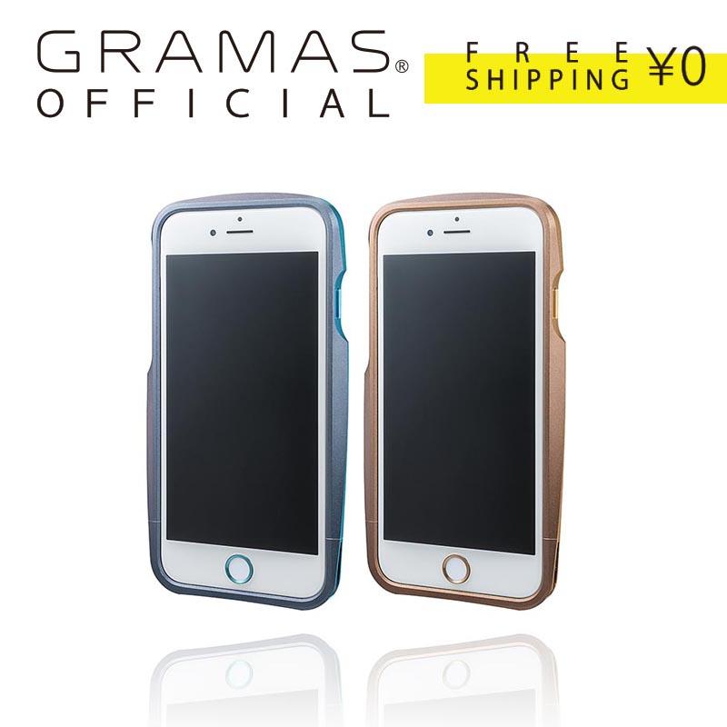 【公式】 GRAMAS グラマス [ 限定 モデル ] Ergonomic Design Metal Bumper Limited for iPhone 6s/6s Plus 送料無料